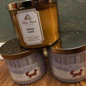 BBW 3-wick candle bundle